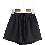 quần short đũi ống rộng nữ cao cấp thumbnail
