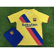 Bộ áo bóng đá trẻ em Barca vàng mẫu năm 2019-2020 thumbnail
