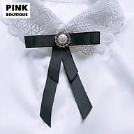 Nơ Cài Áo Tag Nơ Cài Áo Nữ Đính Đá Đẹp PINK BOUTIQUE thumbnail