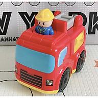 Xe ô tô cứu hỏa chạy đà cao cấp Infantino thumbnail