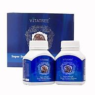 Viên uống nhau thai cừu Vitatree Super Strength Sheep Placenta 60.000mg 120 viên. Hỗ trợ chống lão hóa da, giúp da sáng mịn - Úc thumbnail