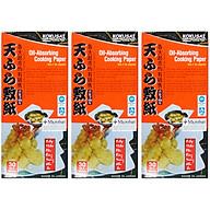 Combo 3 Hộp Giấy Thấm Dầu Kokusai GTDD09000338 (30 Tờ Hộp) thumbnail