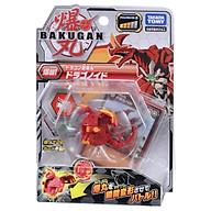 Đồ chơi Quyết Đấu Bakugan - Chiến Binh Rồng Lửa Dragonoid Red - Baku001 thumbnail