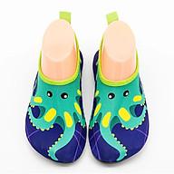 Giày đi biển, lội nước cho bé chống trơn trượt, gọn nhẹ, sử dụng nhiều lần, phù hợp đi học, du lịch, thân thiện với môi trường, chịu nước tốt, dễ vắt và nhanh khô SK005 thumbnail