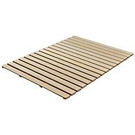 Giường cuộn gỗ thông 60cm cao cấp di động thumbnail