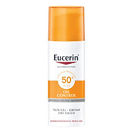 Gel Chống Nắng Cho Da Nhờn Mụn Eucerin Sun Gel-Cream Dry Touch Oil Control SPF50+ (50ml) thumbnail