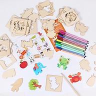 Đồ chơi khuôn tập vẽ cho bé và trò chơi ghép hình thumbnail