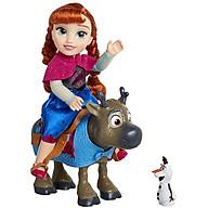 Đồ chơi Frozen 2 búp bê công chúa Anna và chú tuần lộc Sven - 205171 thumbnail