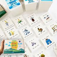 Flashcard tiếng Trung - Bộ 1500 thẻ học từ vựng tiếng Trung thông minh có dịch nghĩa co hi nh a nh thông du ng nhâ t thumbnail
