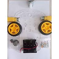 Khung xe robot 2WD 3 bánh thumbnail