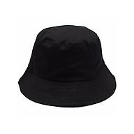 Nón bucket vành tròn trơn - mũ tai bèo Ulzzang phong cách, cá tính Unisex nam nữ thumbnail