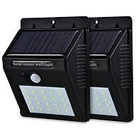 Combo 2 Đèn LED năng lượng mặt trời cảm biến chuyển động - Chống nước tuyệt đối thumbnail