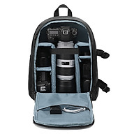 Balo đựng máy ảnh chống thấm (SB01), túi máy ảnh chuyên dụng 2 trong 1 đựng cả laptop thumbnail