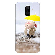 Ốp lưng dẻo cho điện thoại Samsung Galaxy A6 Plus 2018_0385 Pig 25 - Hàng Chính Hãng thumbnail