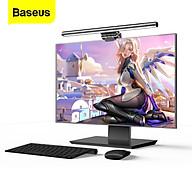 Đèn treo màn hình bảo vệ mắt Baseus i-Work Series (3 Light Mode, Anti Bluelight, USB Stepless Dimming Screen Hanging Light, New Model) - DGIWK-B02 - Hàng chính hãng - Trắng thumbnail