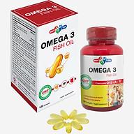 Thực phẩm chức năng Omega 3 Fish Oil - Bổ não, tốt cho da và mắt thumbnail