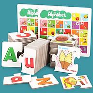 Đồ Chơi Học Tập Thông Minh Bảng Chữ Cái Cho Bé - Alphabet (Từ 3-6 tuổi) thumbnail