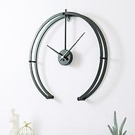 Đồng hồ treo tường kim trôi nghệ thuật trang trí phòng khách thumbnail