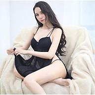 Đầm ngủ có đệm ngực xẻ vạt quyến rũ cho tuần trăng mật thumbnail