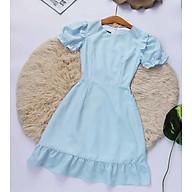 Đầm xanh thiết kế Thanh Lịch Bao Rẻ Bao Đẹp thumbnail