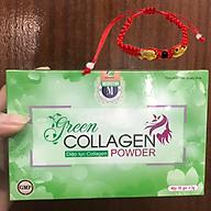 Thực Phẩm Bảo Vệ Sức Khỏe Diệp lục Collagen (Green Collagen Powder) + Tặng kèm Vòng Phong Thủy - đẹp da, chống lão hóa, cân bằng nội tiết thumbnail