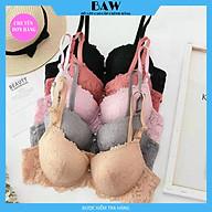 Áo lót phối ren đệm dày siêu nâng ngực, áo ngực tạo khe quyến rũ thương hiệu BAW NT740 thumbnail