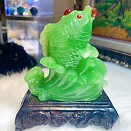 Cá Chép Ngậm Ngọc Đem Đến May Mắn Tài Lộc Mani Phong Thủy Đ.PK040-250 thumbnail