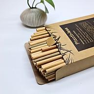 Hộp 100 Ống Hút Cỏ (Grass Straws) Dài 15 cm - Không Tan, Biến Dạng Trong Nước - Dùng Được Cho Tất Cả Các Loại Thức Uống thumbnail