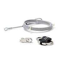 Dây khóa chống trộm Kensington UPG-HR-C929 cho Laptop, Màn hình, CPU (Màu bạc) thumbnail