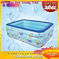 Bể bơi phao cho bé loại nào tốt, Bể bơi phao trong nhà kích thước 180cm, 150cm, 210cm - TẶNG BƠM CHÂN thumbnail