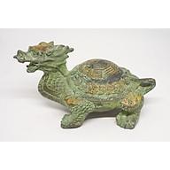 Tượng Long Quy (Rùa Đầu Rồng) Phong Thủy bằng đồng thumbnail