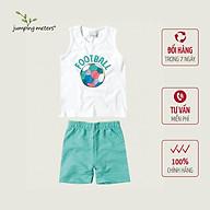 Bộ quần áo hè bé nam họa tiết bóng đá TC5 Jumping meters thumbnail