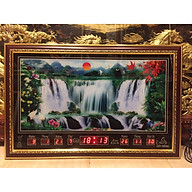 Tranh đồng hồ điện vạn niên - Suối chảy - 68553 thumbnail