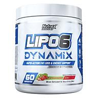 Lipo6 Dynamix Pre-Workout Kết Hợp Đốt Mỡ 2 In 1 (60 Serving) thumbnail