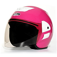 Mũ bảo hiểm 3 4 đầu có kính GRO ST06 dành cho nam nữ, nón bảo hiểm dáng trùm đầu an toàn, thời trang, gọn nhẹ - Hàng chính hãng thumbnail