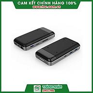 Bộ chuyển đổi USB C 8 in 1 Hyperdrive 7.5W HD258B-Hàng chính hãng. thumbnail