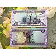 Tiền cổ Iraq mệnh giá 50 Dinar , mới 100% UNC, tặng túi nilon bảo quản thumbnail