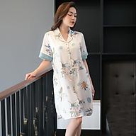 Áo váy satin ZAM Luxury - VAA46 thumbnail