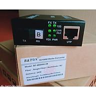 Chuyển đổi quang điện 1 sợi B&TON Multi mode 10 100M mã BT-950MM-2B khoảng cách 2Km. Hàng chính hãng thumbnail