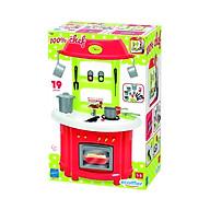 Đồ chơi Mô hình ECOIFFIER Bộ nhà bếp truyền thống màu đỏ 001759 thumbnail