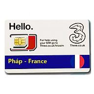Sim Du lịch Pháp - France 4G tốc độ cao thumbnail