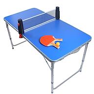 Bàn chơi bóng bàn mini có thể điều chỉnh độ cao kích thước 120 60cm - HÀNG CHÍNH HÃNG thumbnail