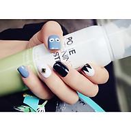 Bộ 24 móng tay giả nail thơi trang (như hình-M136) thumbnail