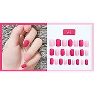 Bộ 24 móng tay giả nail thơi trang như hình V1 thumbnail