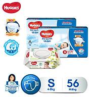 Combo 2 tã dán sơ sinh Huggies Diapers New Born S56SG thumbnail