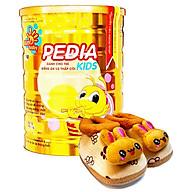 Sữa bột công thức dinh dưỡng cho bé PEDIA KIDS 900G- Tặng 1 giày nhung cho bé 0-12 tháng Sunbaby thumbnail