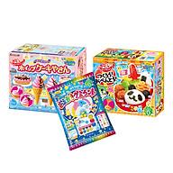 Combo 3 hộp kẹo sáng tạo popin cookin kem socola + cơm bento + thế giới sắc màu thumbnail