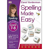 Carol Vorderman Spelling Made Easy Ages 7-8 Key Stage 2 thumbnail