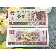 Tiền Trung Quốc cổ 1 Tệ hình vạn lý trường Thành năm 1990, mới 100% UNC, tặng túi nilon bảo quản thumbnail