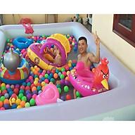 Bể bơi gia đình KT 210 145 65CM (tặng kèm bơm điện 2 chiều) thumbnail
